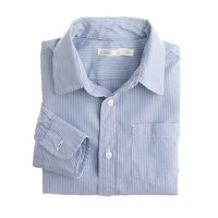 Boys' Secret Wash shirt in medium stripe