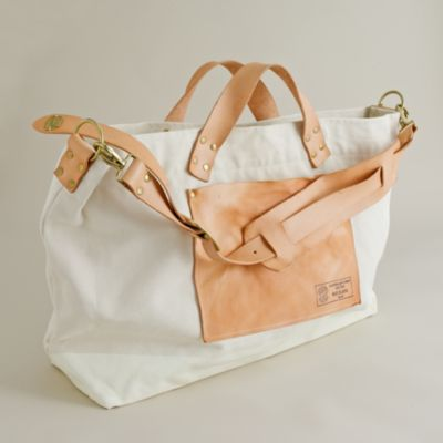Superior Labor engineer 2-way canvas tote :