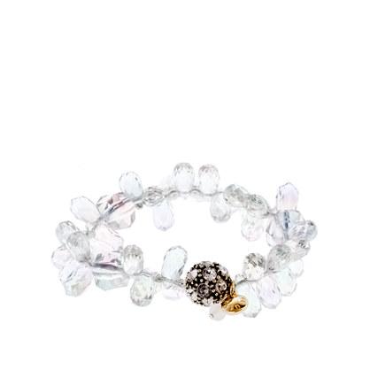 Girls' mixed bead bracelet