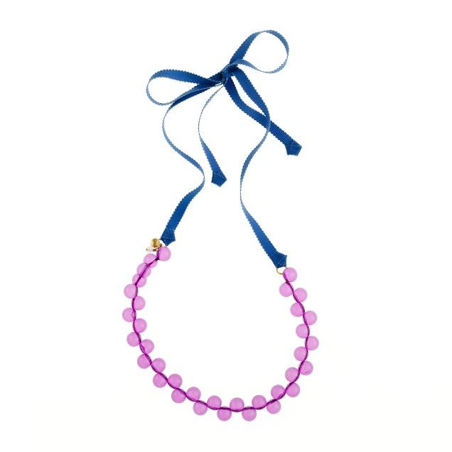 Girls' crazy bead necklace