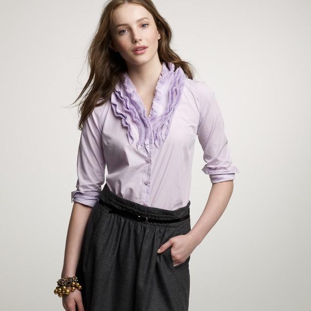 Elizabeth ruffle shirt
