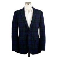 Ludlow sportcoat in Black Watch Harris Tweed wool