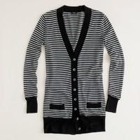 Graphic stripe forever cardigan