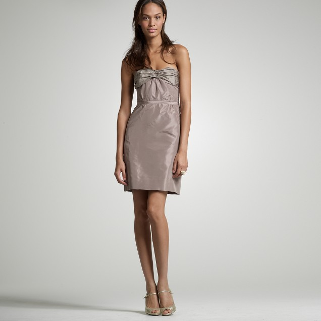 Silk taffeta Karyn dress