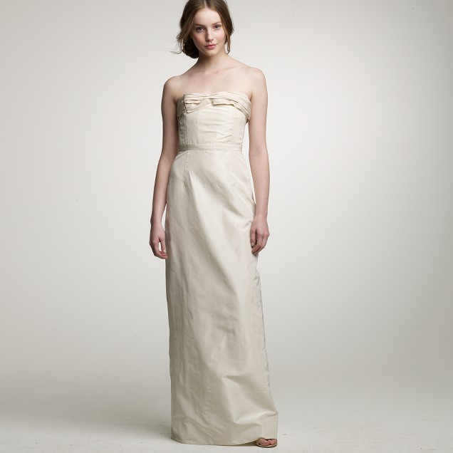 Caroline gown j crew for J crew beach wedding dress