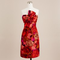 Ikat bow monde dress