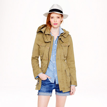 Boyfriend fatigue jacket