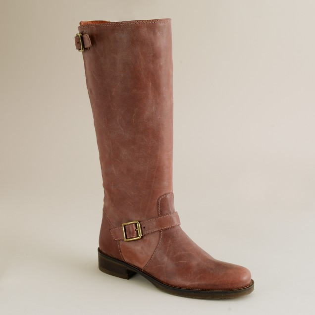 Vintage tall roadster boots