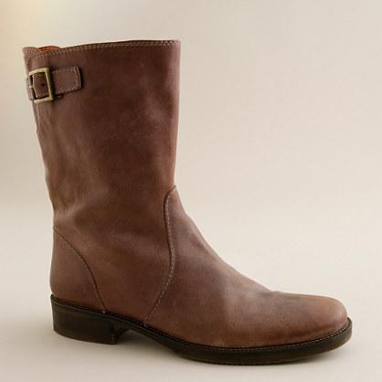 Vintage short roadster boots