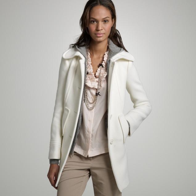Stadium-cloth Friday coat