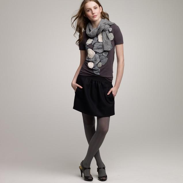 Wool bungalow skirt