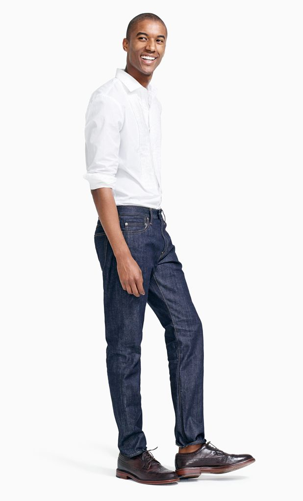 Image result for male in denim