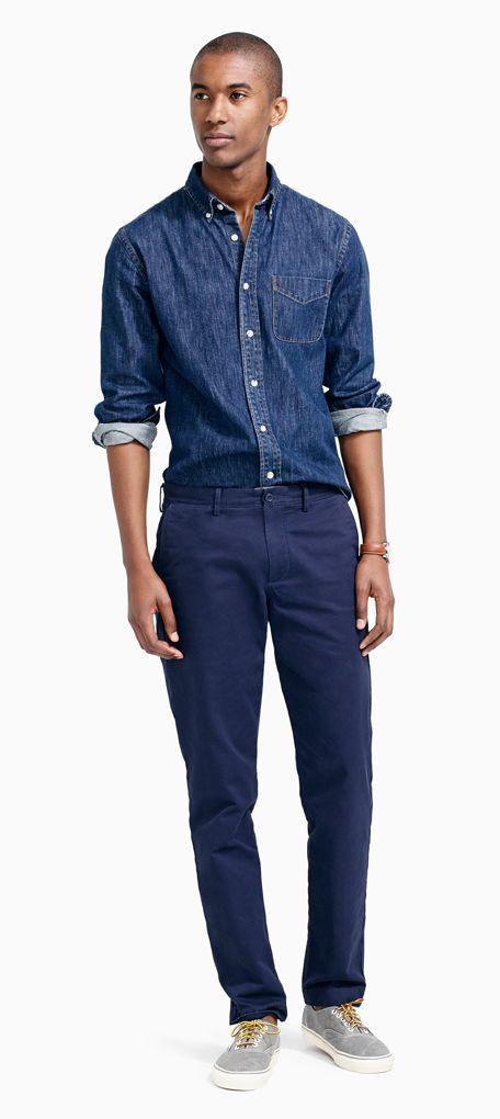 Men's Chino Pants : Men's Pants By Fit   J.Crew