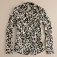 Strada fan placket perfect shirt
