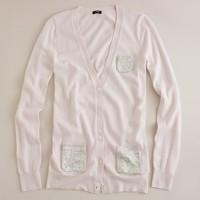 Glimmer pocket cardigan