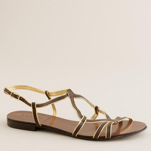 Soleil nubuck sandals