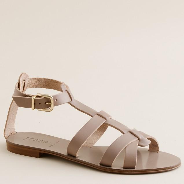 Cyprus vachetta gladiator sandals