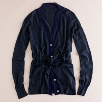 Cashmere-silk splendid cardigan