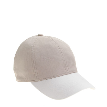 Colorblock baseball cap