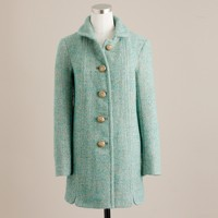 Mint tweed Griffin coat