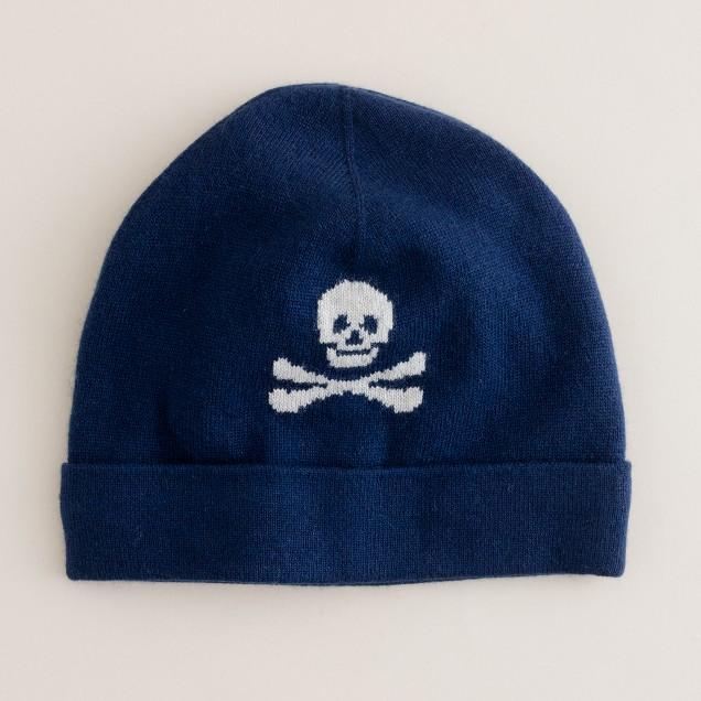 Boys' skull-and-crossbones hat