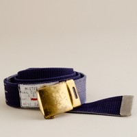 Mister Freedom® parachute stitch web belt