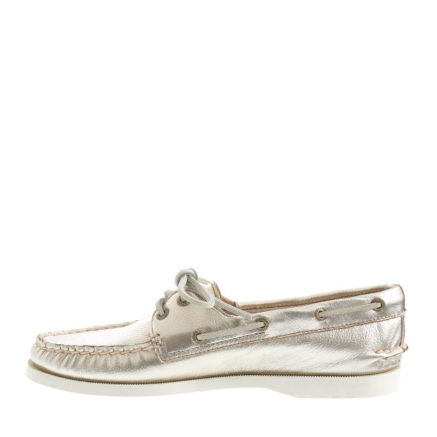 Sperry Top-Sider® for J.Crew Authentic Original 2-eye metallic boat shoes