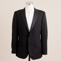 Ludlow two-button tuxedo jacket with double-vented back