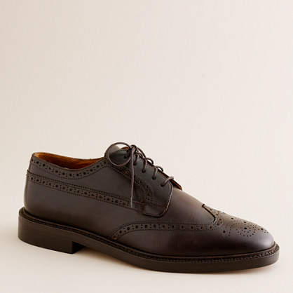 Gifford leather wing tips