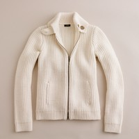 Wool lodge cardigan