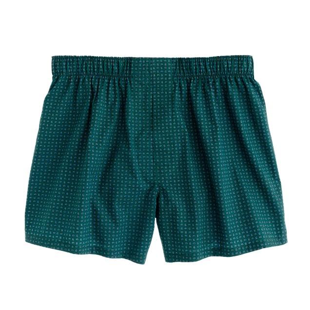 Mini-paisley boxers