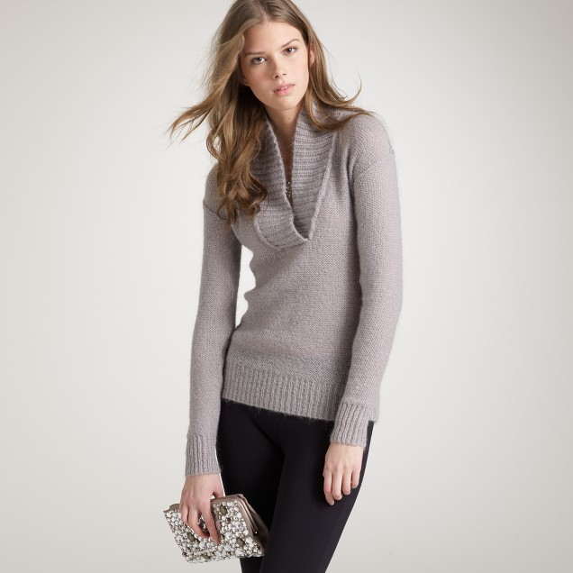 Dolce shawl-collar popover