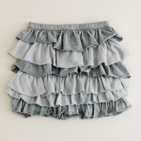Girls' layered cake skirt