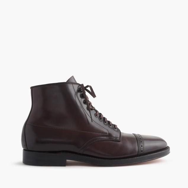 Alden® cap-toe cordovan boots