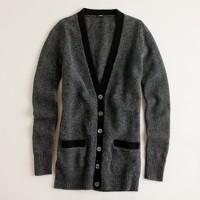 Tivoli boiled wool cardigan