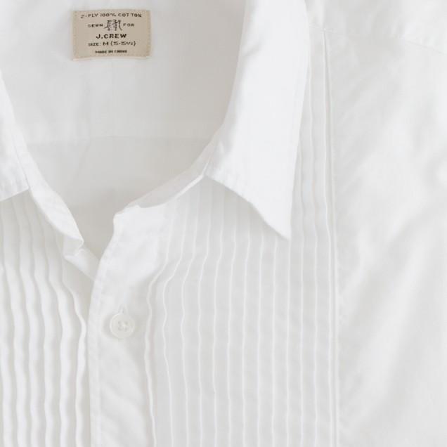 Secret Wash tuxedo shirt