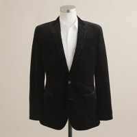 Velvet sportcoat in Ludlow fit
