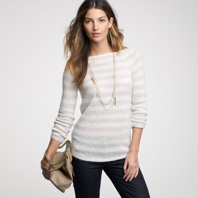 Stripe dolce sweater