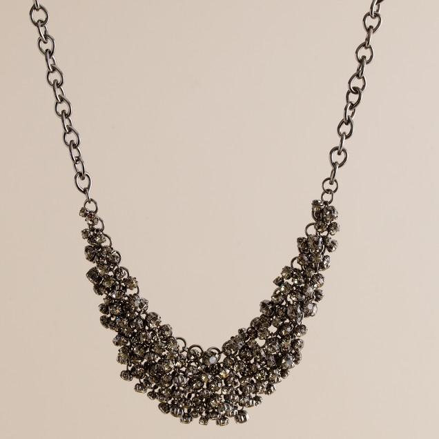 Crystal supernova necklace