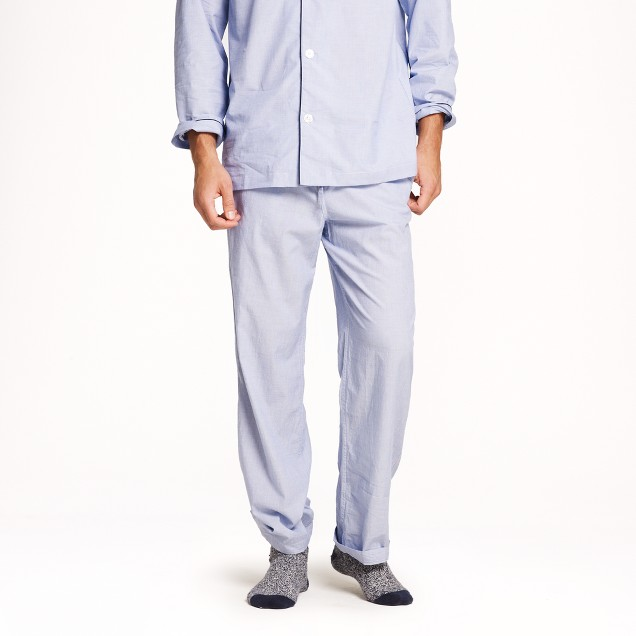 Classic cotton poplin pajama set