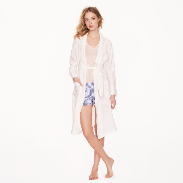 Collection Irish linen robe