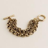 Four-chain link bracelet