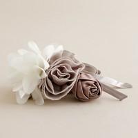 Silk bouquet sash