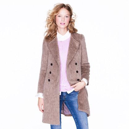 Collection alpaca wool coat