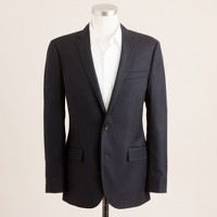 Ludlow blazer with center vent in Italian wool