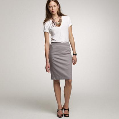 Cotton Pencil Skirts