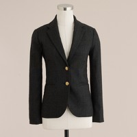 Heather carbon schoolboy blazer