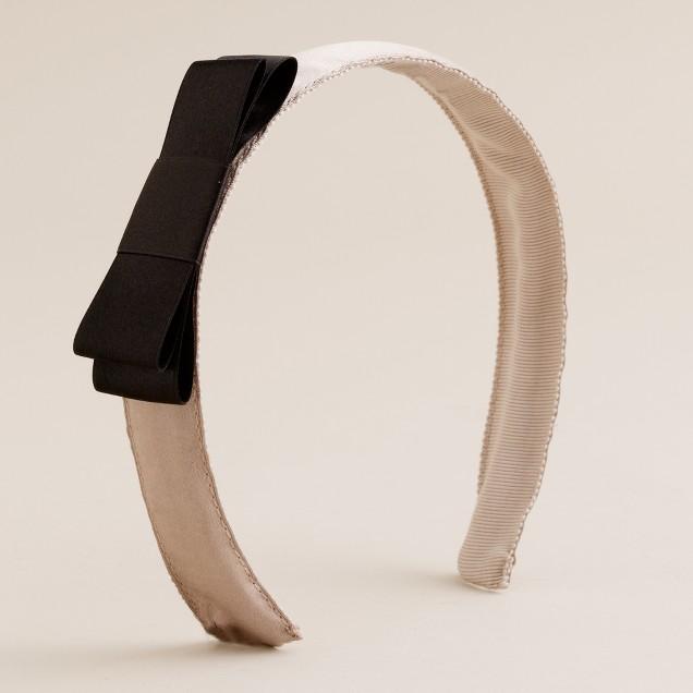 Tuxedo headband