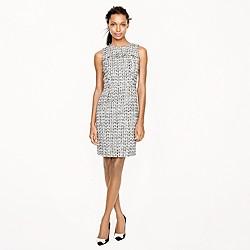 Noir tweed dress