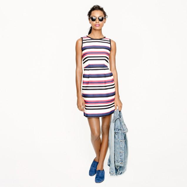 Multistripe dress